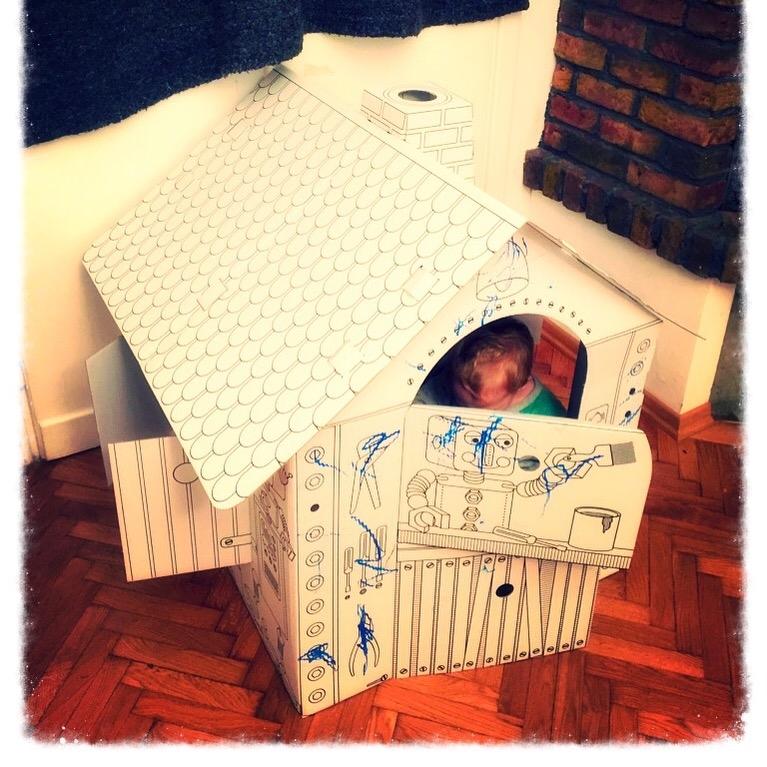 Tysiek w domku