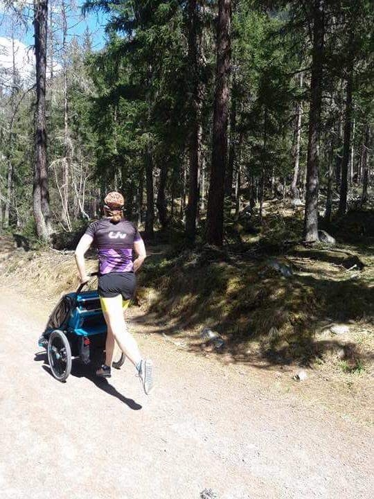 Thule wózek do biegania