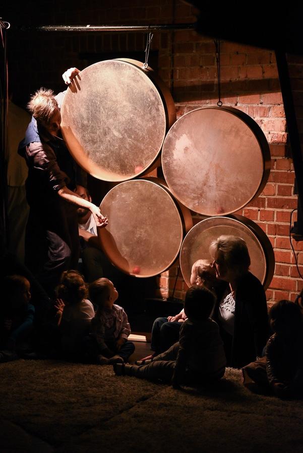 Teatr małego widza beat the drum